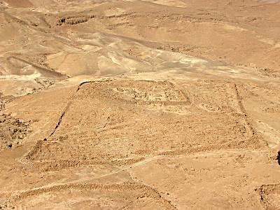 Masada main siege camp